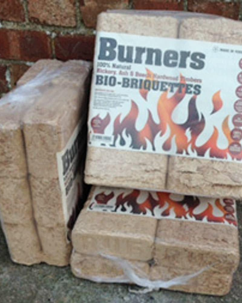 Burners Bio-Briquettes